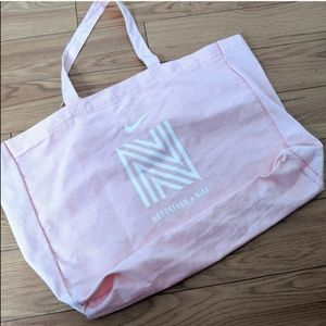 Nike x Nordstrom canvas tote bag